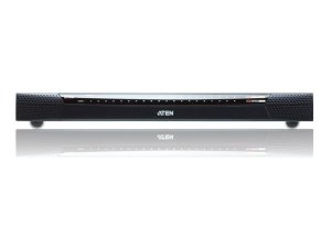 KN4140VA Switch 1 local / 4 remoto de 40 portas Cat 5 KVM sobre IP com mídia virtual (1920 x 1200)