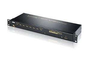 ACS1208A Comutador KVM PS / 2 VGA de 8 portas com porta de ligação em cadeia