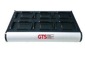 HCH-3206-CHG - Carregador de Bateria GTS 6 Compartimentos Para Motorola Symbol MC3200 Séries