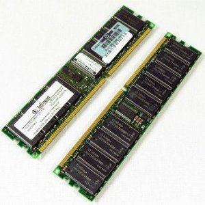 300701-001 HP  Módulo de memória DDR ECC PC2100 1GB AA657A
