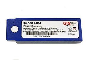 HA720-Li(S) - Bateria GTS Para os Scanners de Código de Barras Vocollect A710 e  A720