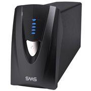 27570 SMS Nobreak Manager III Senoidal 700VA 490W (Entrada Bivolt, Saída 115V), Expansivel, USB, com 4 tomadas NBR 14136