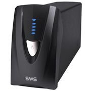 27572 SMS Nobreak Manager III Senoidal 1500VA 975W (Entrada Bivolt, Saída 115V), Expansivel, USB, com 5 tomadas NBR 14136
