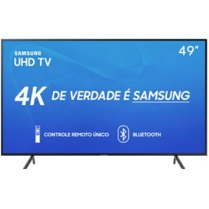 "UN49RU7100 Tv Samsung Smart 4K 49"" Bluetooth"