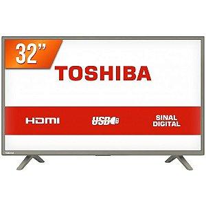 TV 32L1800 TV 32P TOSHIBA LED HD USB HDMI (MH)