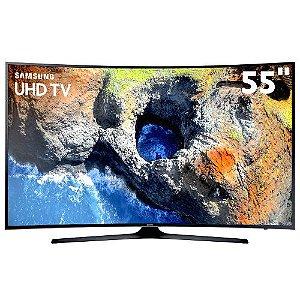 UN55MU6300GXZD TV 55P SAMSUNG LED CURVA 4K SMART WIFI USB HDMI