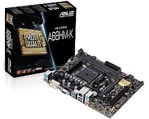 90MB0KU0-M0EAY0 Placa-Mãe Asus A68HM-K (A68HM-K) AMD FM2+ DDR3 Micro ATX