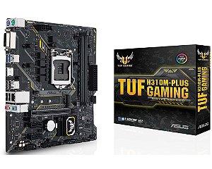 90MB0Y50-C1BAY0 Placa-Mãe Asus GAMING (TUF H310M-PLUS) Intel 1151 DDR4 mATX