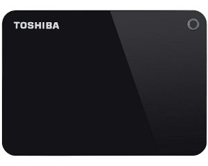 HDTC910XK3AA - HD Externo Toshiba 1TB Canvio Advance V9 5400rpm USB 3 Black