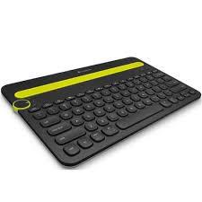 920-006348 Teclado sem fio Bluetooth K480 Para Pc/tablet/smartphone - Preto Logitech