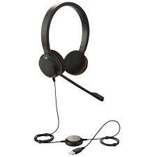 Jabra Headset Evolve 20 Biauricular MS (USB), 4999-823-109