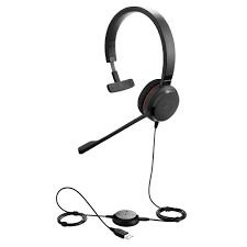 Jabra Headset Evolve 30 II MS Monoauricular (USB, 3.5mm), 5393-823-309