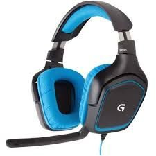981-000551 Headset Gamer USB G430 7.1 Logitech