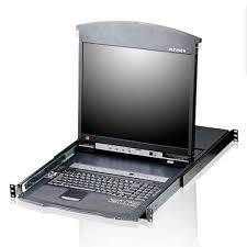 KL1508AN 8-Port 19in. Trilho duplo CAT5 LCD KVM - ATEN
