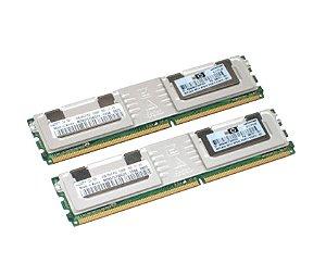 495604-B21 Kit Memória Servidor SDRAM PC2-5300 de 64 GB (8x8GB) HP