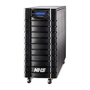91.D1.050000 Nobreak NHS Laser Senoidal 5000VA E.Bivolt S.120V ou Conf 220V Bat 12x9Ah/120V Eng+USB 8 tomadas
