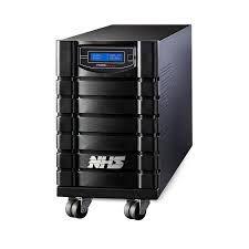 92.B0.050500 Nobreak NHS Laser Prime On Line 5000VA Entrada 220V Saida 220V Bat. 12x9Ah