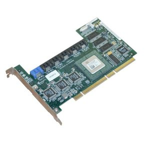 0D9872 Placa Controladora RAID Dell PCI-X SATA de 64 MB