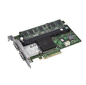 0FY374 Placa Controladora RAID SAS PERC 6 / E 512MB SAS -  Dell