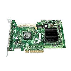 0GU186 Placa Controladora Dell PE 5 / iR SAS / SATA RAID