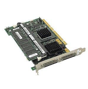 0J4717 Placa Controladora RAID PERC 4 / DC de 128 MB SCSI PCI-X - Dell