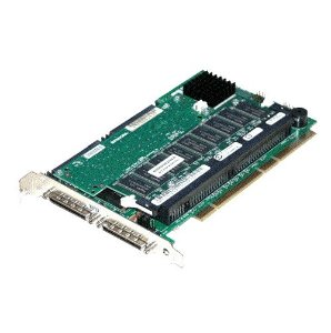 47JFR Placa Controladora RAID Dell PERC 3 / DC U160 SCSI PCI-X de 128 MB