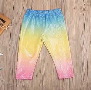Calça Legging Unicórnio Rainbow