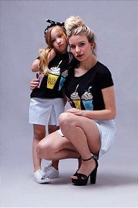 Tee Shirt Milk Shake