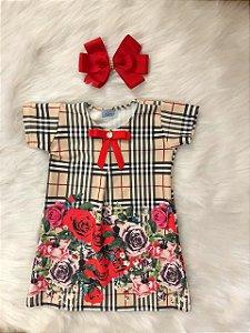 Vestido Burberry Roses