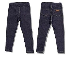 Calça Legging Jeans - 1 a 4 anos