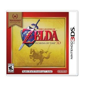 NINTENDO SELECT THE LEGEND OF ZELDA OCARINA OF TIME 3D - 3DS