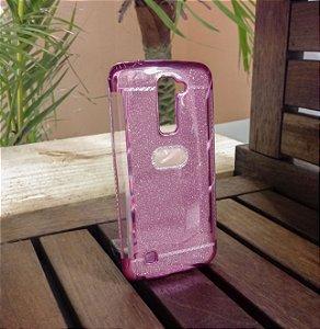 Capinha Brilho Pink LG