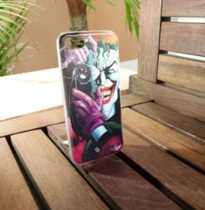 Capinha Personalizada Coringa Apple Iphone