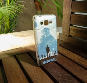 Capinha Personalizada The Walking Dead Samsung