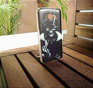 Capinha Personalizada Caveira Samsung