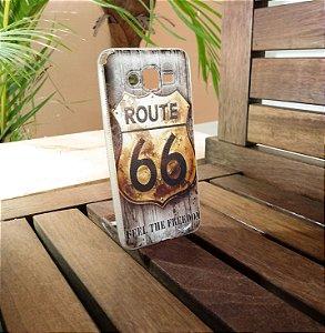 Capinha Route 66 Cinza Samsung
