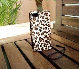 Case Animal Print Apple Iphone