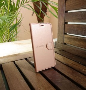 Case Couro Rose Gold H'maston Samsung