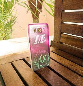 Capinha Personalizada Chape Rosa Samsung