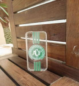 Capinha Personalizada Chapecoense Apple Iphone