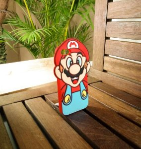 Capinha Emborrachada Super Mario Apple Iphone