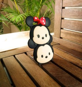 Capinha Emborrachada Mickey Minnie Apple Iphone