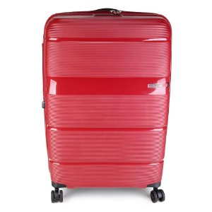 Mala Media Expansível American Tourister Linex TSA Vermelha