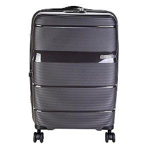 Mala Media Expansível American Tourister Linex TSA  Cinza