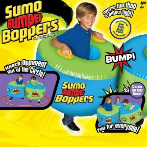 Boia inflável para Barriga para Brincar Sumô + 4 anos