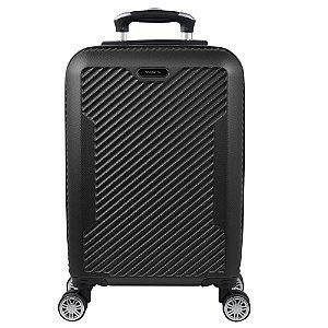 Mala Pequena 10Kg de Bordo Yins em ABS com Rodas 360º Preto