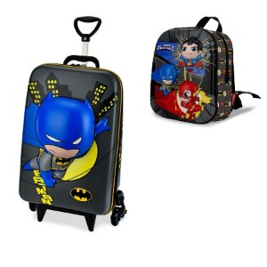 Mochila Escolar infantil Dc Super Friends Batman Maxtoy