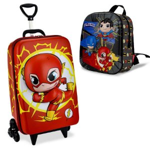 Mochila Escolar Dc Super Friends The Flash Maxtoy