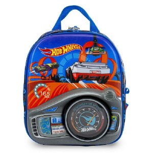Lancheira de Costas Hot wheels Painel Maxtoy 2500XB20