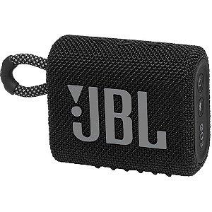 Caixa De Som Jbl Go 3 Portátil Bluetooth Preta